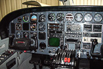 Cessna 414A Chancellor panel